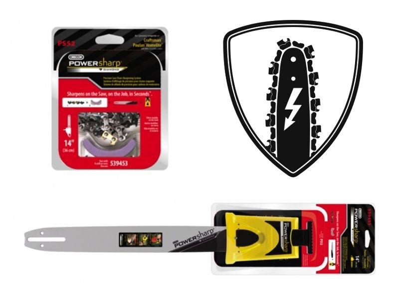 Oregon PowerSharp Starterset für Motorsäge STIGA SP340 35 cm Schwert 3//8 1,3 mm